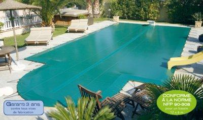 bache hiver piscine INTERSUP