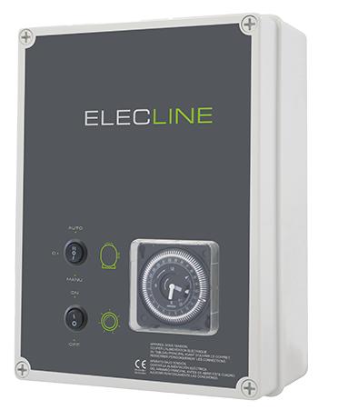 coffret filtration piscine ELECLINE