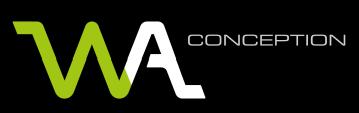 logo wa conception