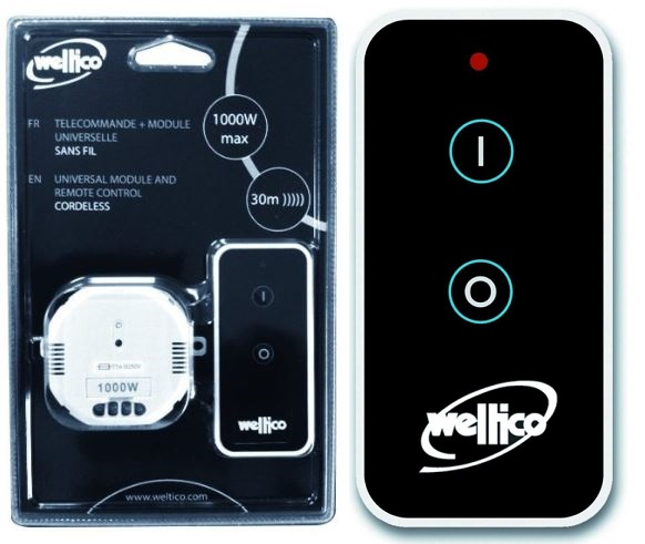 telecommande et boitier recepteur on-off  weltico