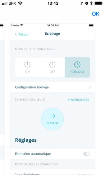 smart phone ACYS gestion eclairage