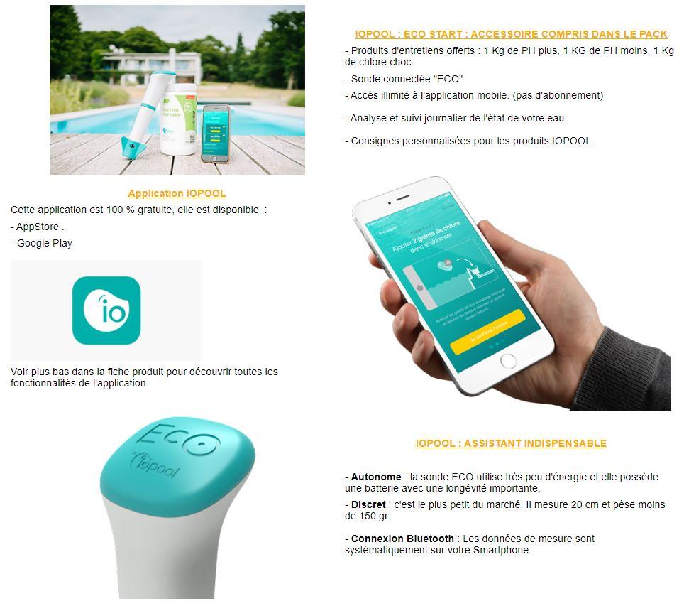 IO POOL kit piscine conectee
