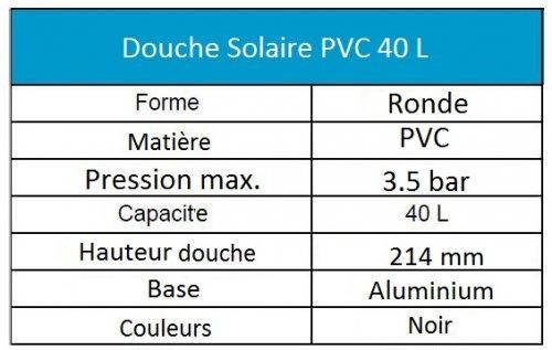 douche-solaire-40-litres-pvc-noir-caracteristique