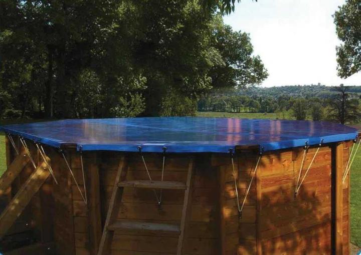Photo ZEPHYR bache piscine bois