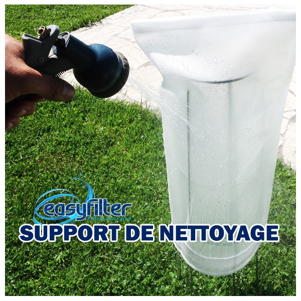 support nettoyage easy filter