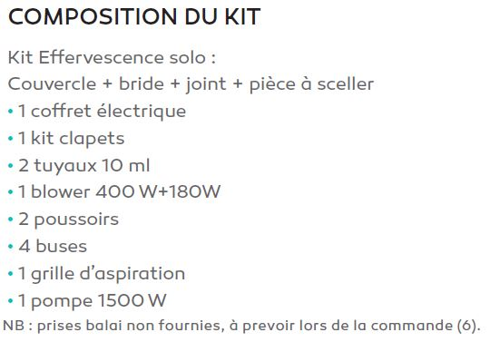 composition kit bulleo SOLO