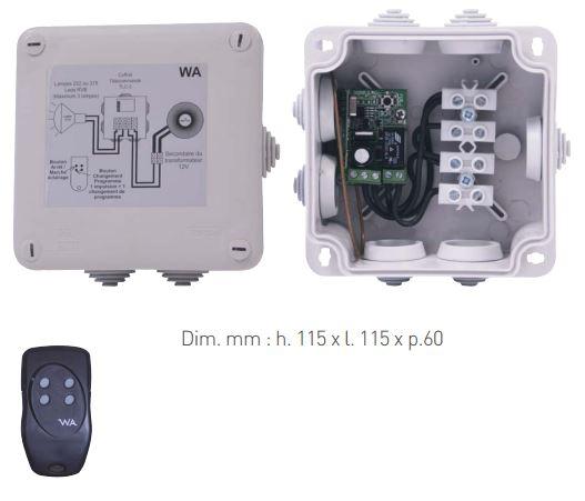 telecommande pour lampe LED tout marque