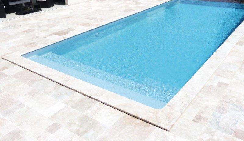 liner piscine gris perle nacre