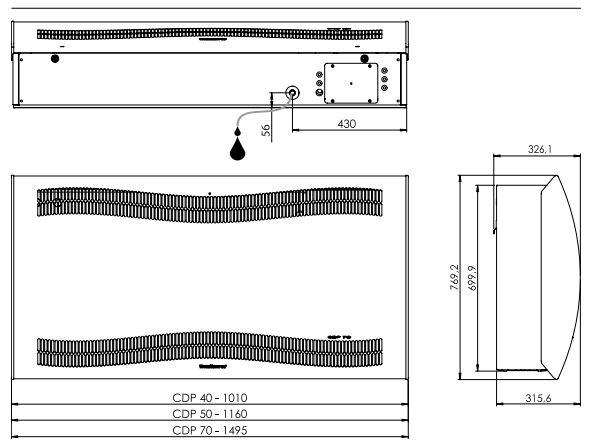 dimensions CDP teddington dantherm