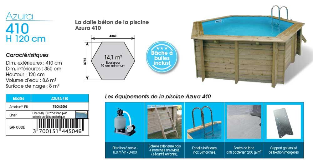 fiche-technique-piscine-bois-azura-410-hexa