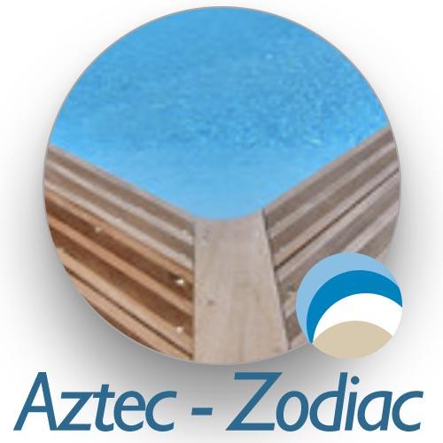 liner piscine bois azteck zodiac distripool. Black Bedroom Furniture Sets. Home Design Ideas