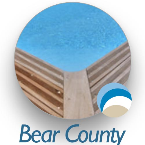 Liner piscine bois Bear County  confort