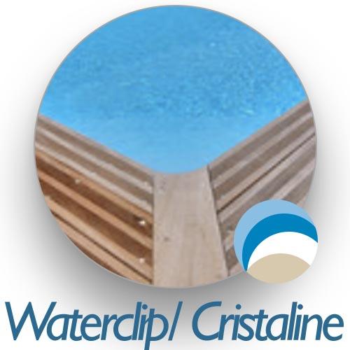 Liner piscine bois Waterclip  Cristaline