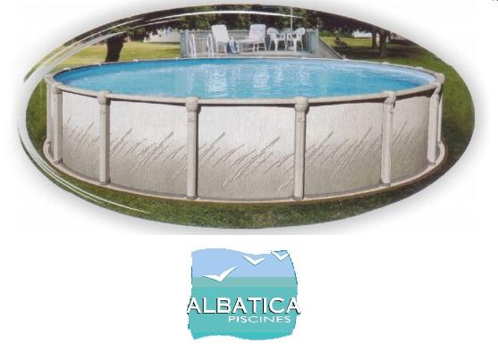 liner piscine hors sol compatible albatica distripool. Black Bedroom Furniture Sets. Home Design Ideas