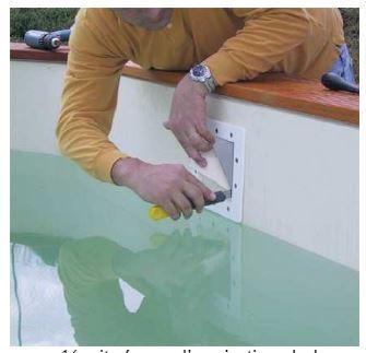 pose liner aqualux 3