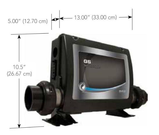 dimensions boitier balboa GS