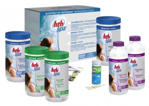 coffret traitement HTH pour spa