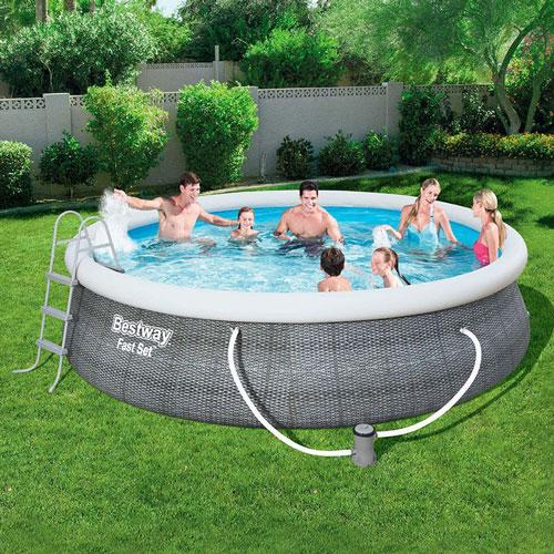 piscine-autoportante-bestway-fast-set-rotin-ronde-2