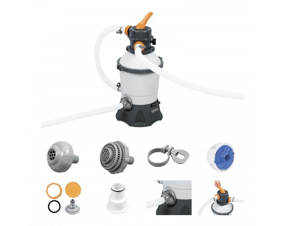 kit filtration piscine bestway FlowClear 3M3-H-1