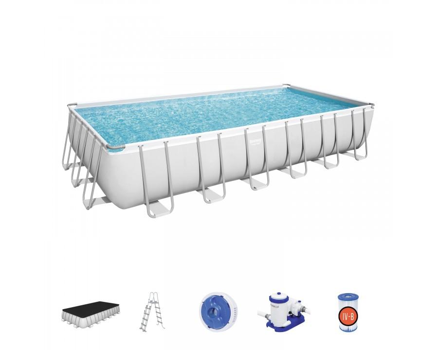 piscine-hors-sol-rectangulaire-power-steel-accessoire