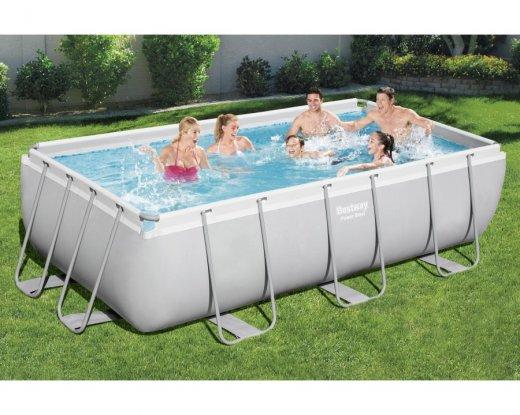 piscine-hors-sol-rectangulaire-power-steel-404-x-201 photo 1