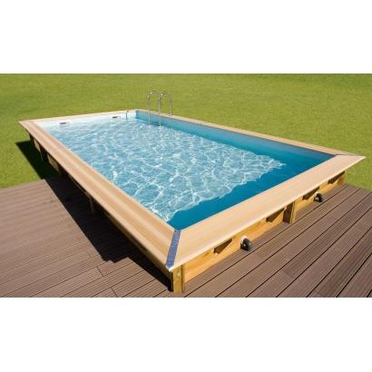 piscine bois LINEA