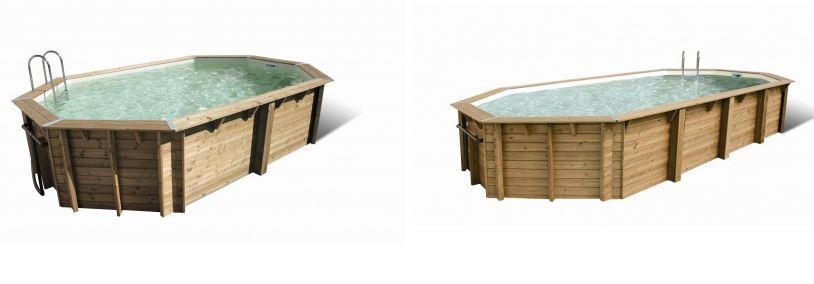 piscine bois collection ocea ubbink