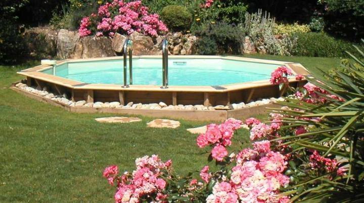 piscine bois OCEA 580 cm photo 1