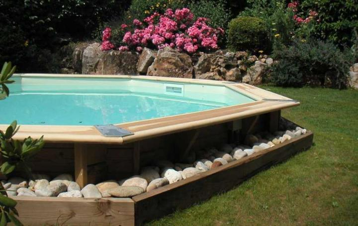 piscine bois OCEA 580 cm photo 4
