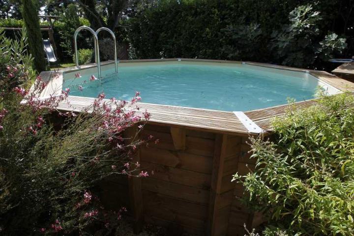 piscine bois ubbink ocea 430 - 2