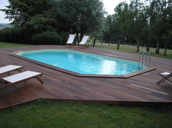 piscine bois ocea 400 x 610 x 130 cm 2