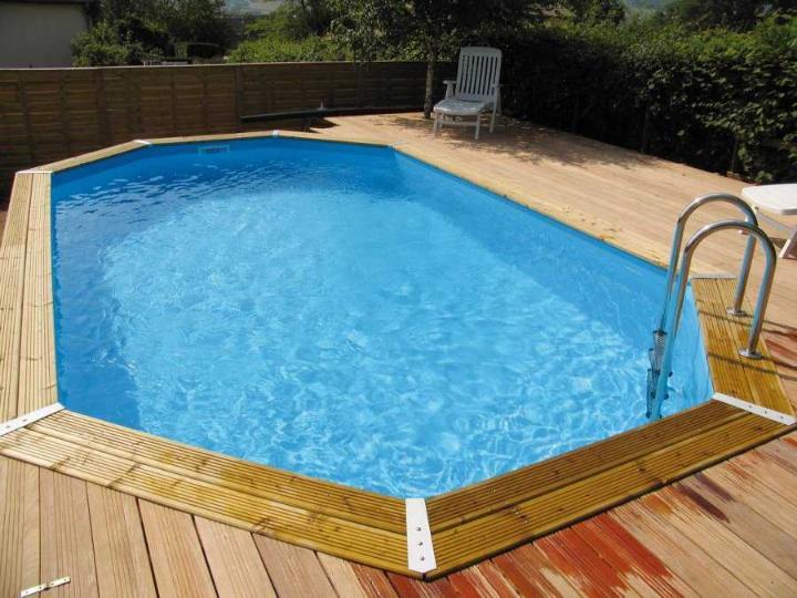 piscine bois ocea 400 x 610 x 130 cm