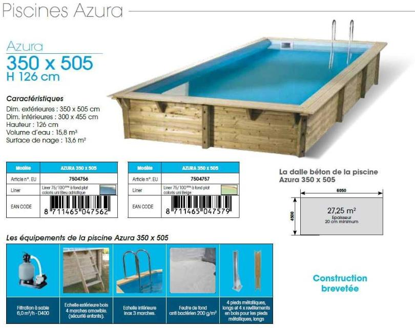 piscine bois azura distripool