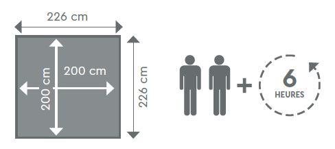 dimensions plan pistoche procopi