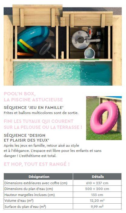 contenu 2 pool n box
