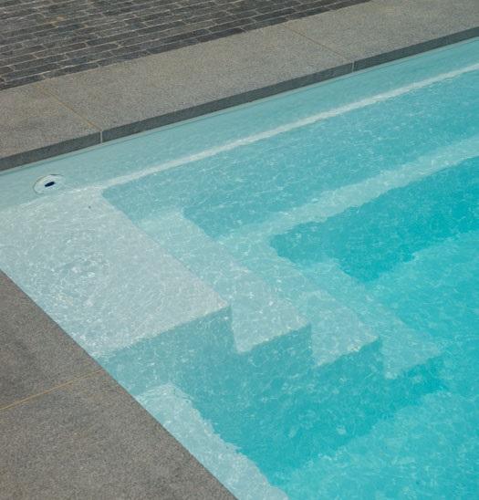 kit piscine polyester SPARTE 6