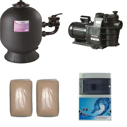 groupe filtration 10 m3