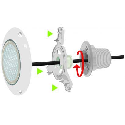 lampe sur prise balai