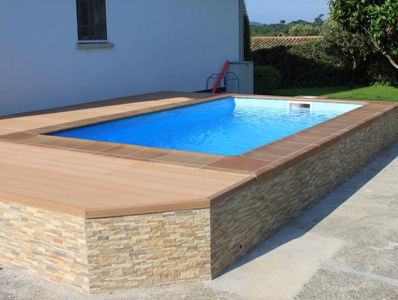 piscine coque rectangulaire graf 45 distripool. Black Bedroom Furniture Sets. Home Design Ideas
