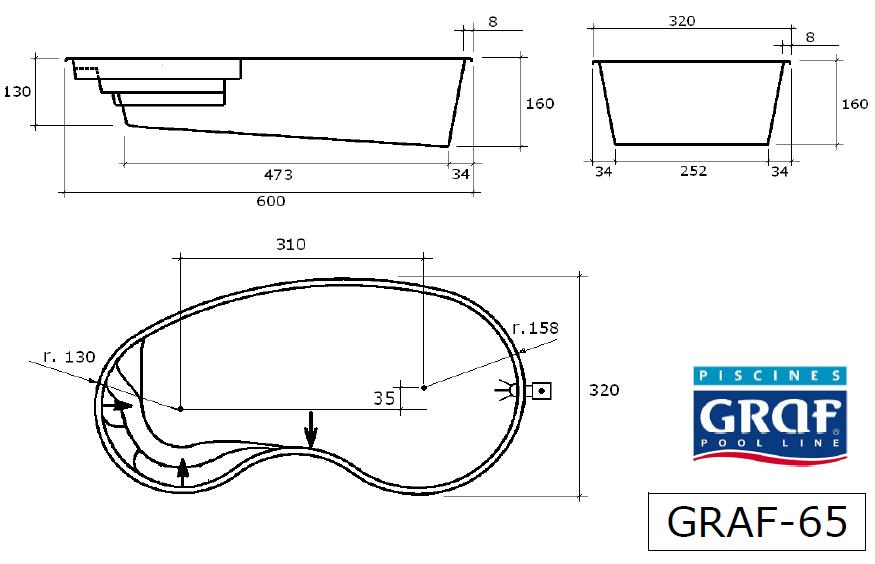 plan piscine graf 65