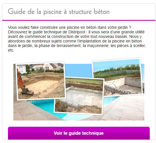 guide structure beton