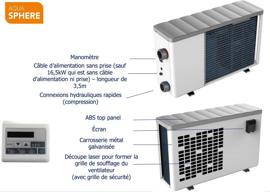 avantage pompe chaleur FSN aquasphere