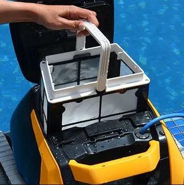 filtration robot dolphin panier