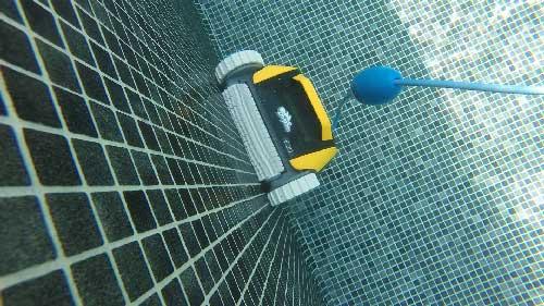 robot-piscine-DOLPHIN-E20-en-eau