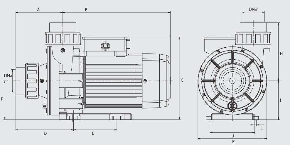 dimensions pompe wiper 3