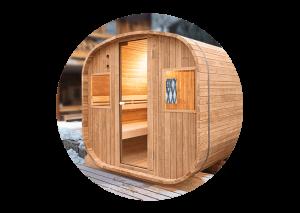 Sauna D Extérieur sauna d'extérieur barrel - vapeur - holl's