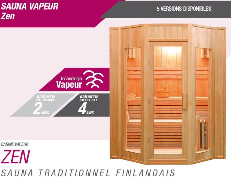 banniere presentation ZEN france sauna