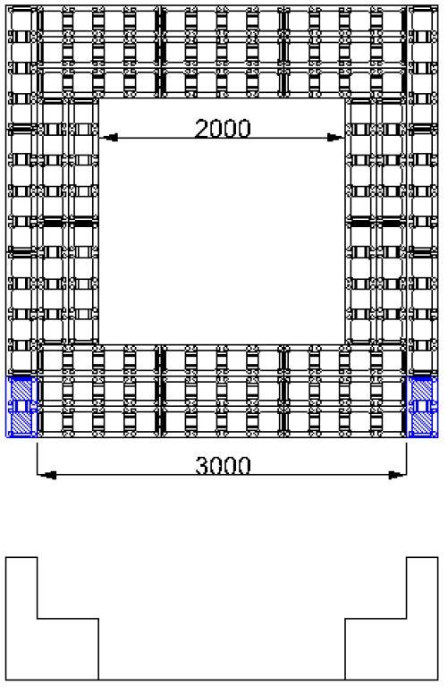 plan spa polystyrene carre 3 x 3