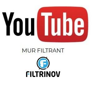 video mur filtrant youtube