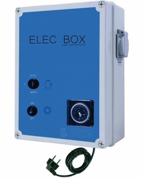 coffret electrique piscine horloge- ELEC BOX